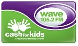 Wave 105.2FM Cash for Kids